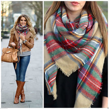 Load image into Gallery viewer, Plaid Picnic Checked Scarf