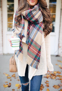 Plaid Picnic Checked Scarf