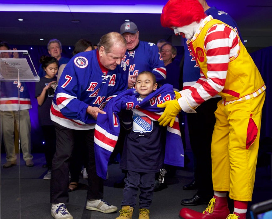 Ronald McDonald House New York and the New York Rangers Celebrate 26th Annual Skate with the Greats