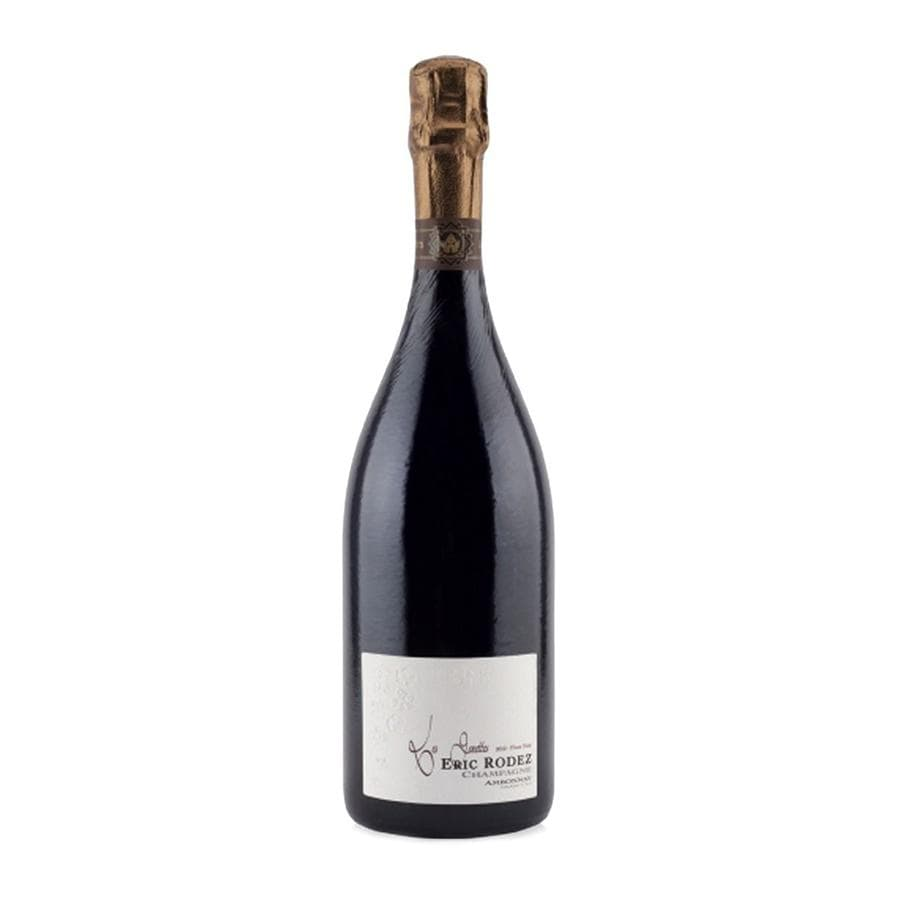 "Load image into Gallery viewer, Champagne Eric Rodez ""Les Fournettes"" Pinot Noir Extra Brut champagne bottle with foil top"