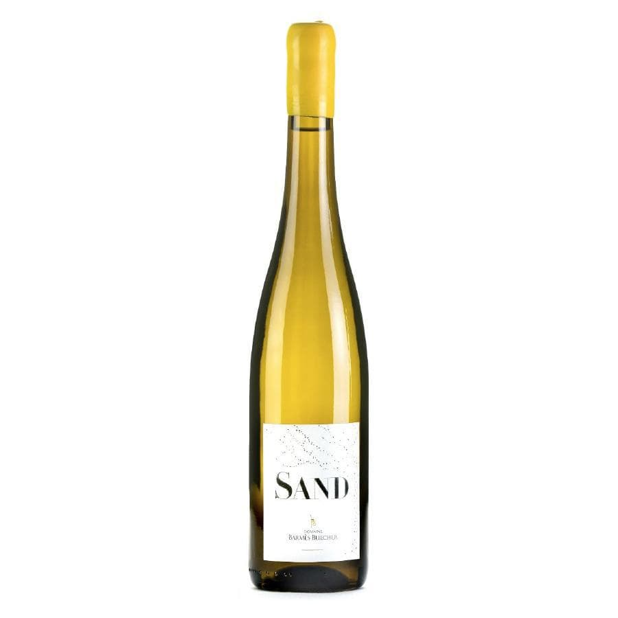 "Domaine Bames Buecher Pinot Blanc ""Sand"", an extremely rare bottle of white wine"