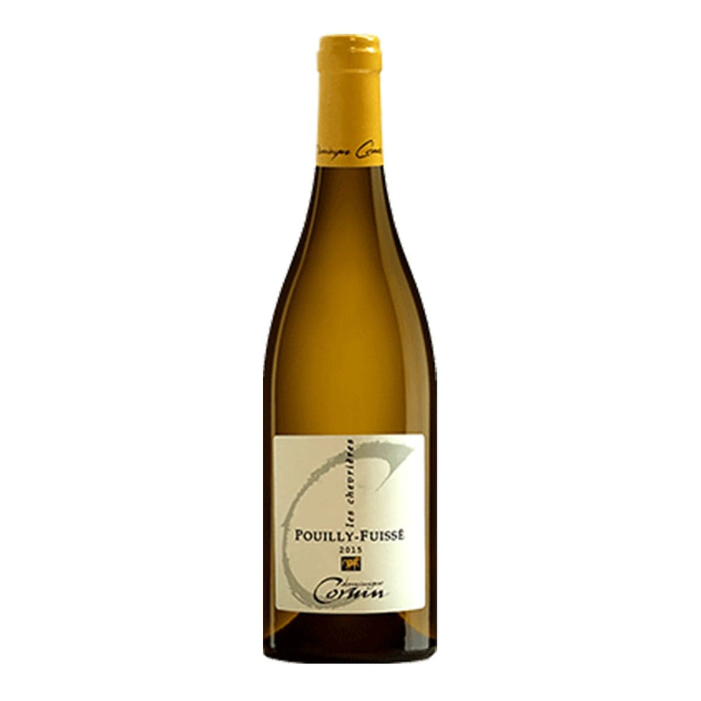 "Load image into Gallery viewer, Domaine Dominique Cornin Pouilly-Fuissé ""Les Chevrières"" white wine bottle"