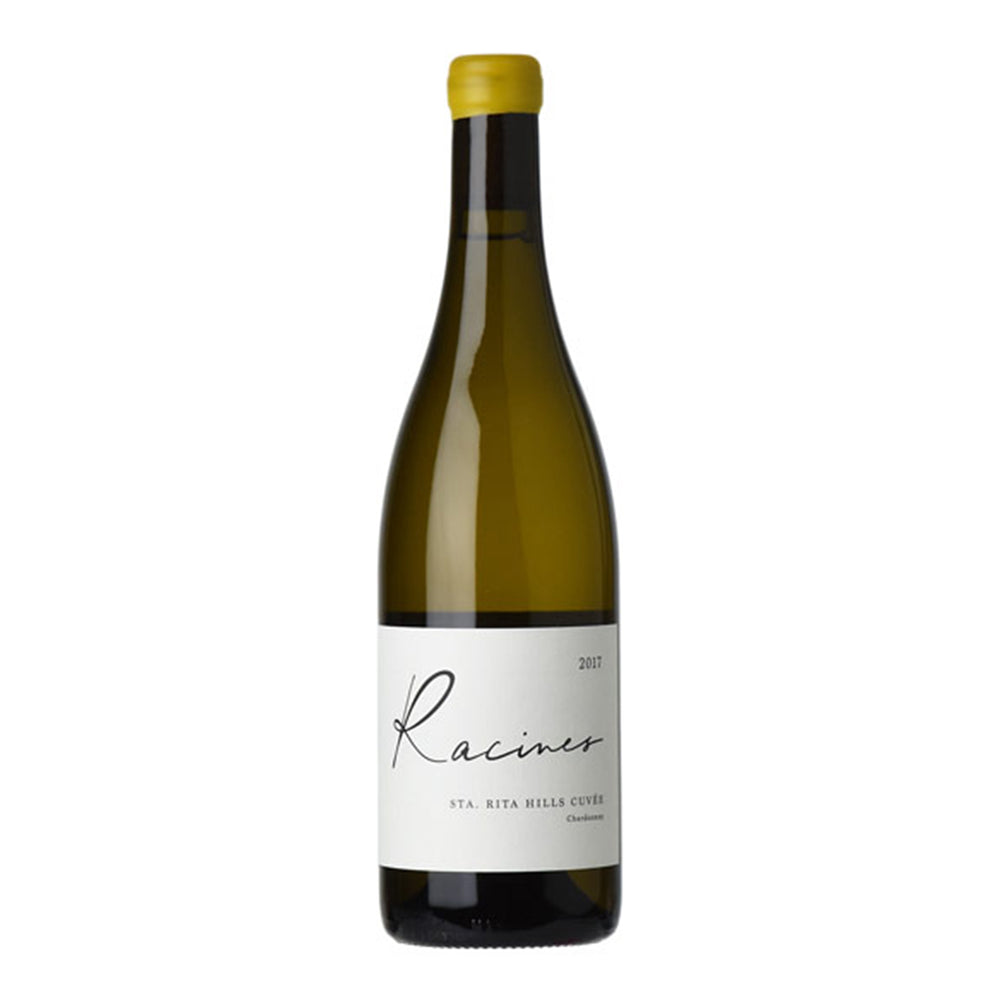 Raccines Sta Rita Hills White Wine Bottle with Yellow Top