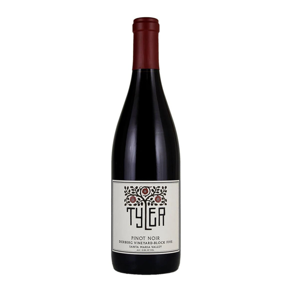 Bottle image of Tyler, Pinot Noir Dierberg Vineyard Block Five