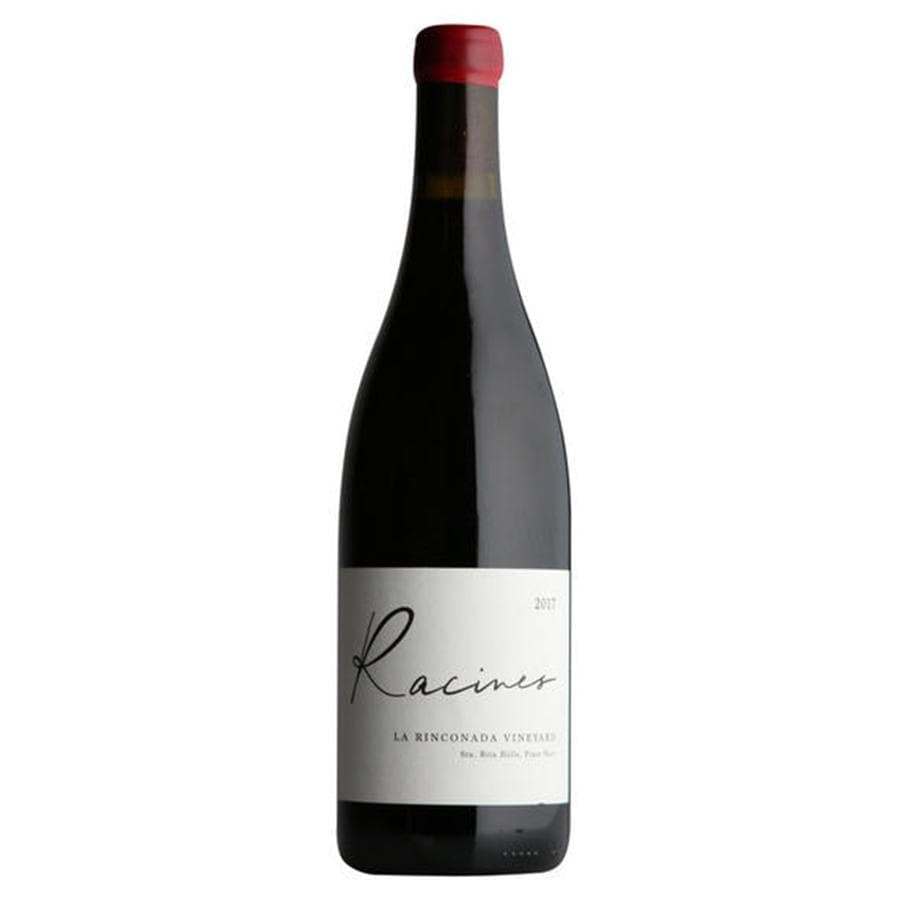 Load image into Gallery viewer, Racines Pinot Noir, La Rinconada Vineyard Bottle and Label