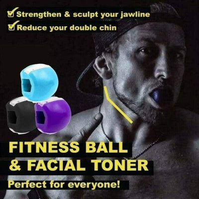 Magnificent Life Store JawLine ExerciseFace Fitness Ball & Facial Toner Exerciser Jawrsize Jaw