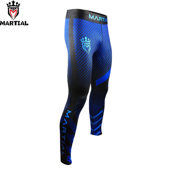 Martial Blue BJJ Pants