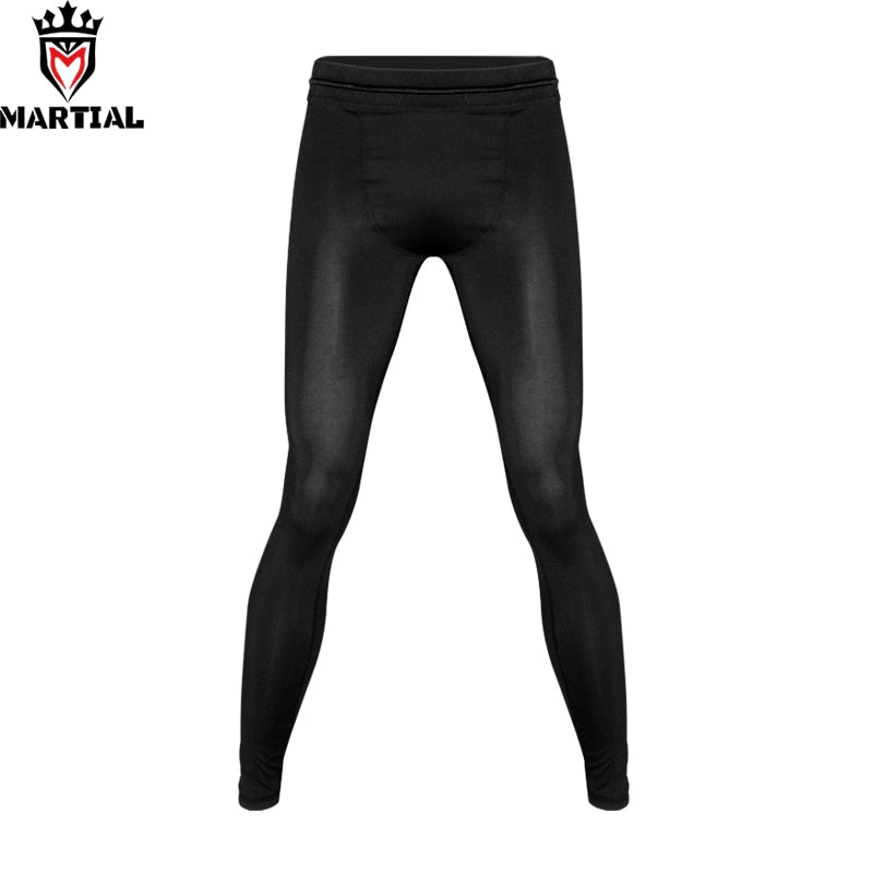 Martial Blank Black Pants