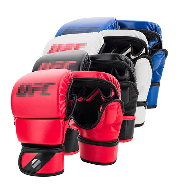 4 colors Fighting MMA Gloves