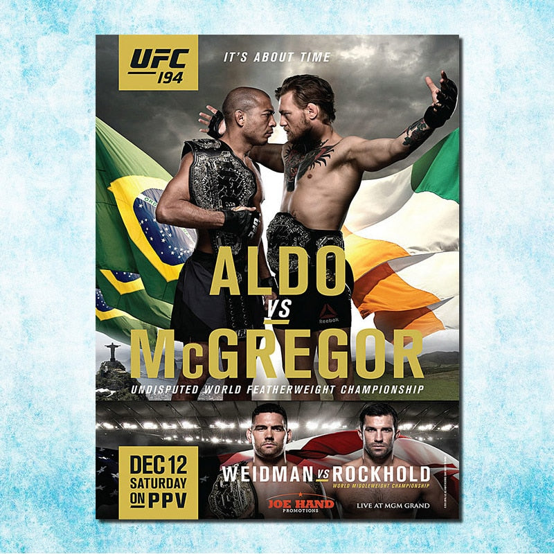 Conor McGregor vs Aldo