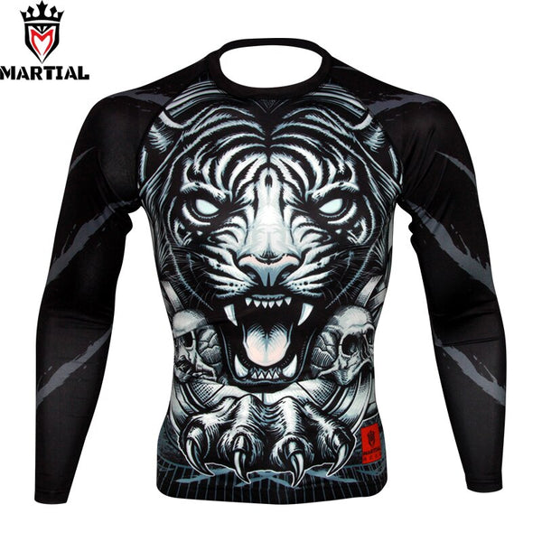 Martial Tiger Rash Guard