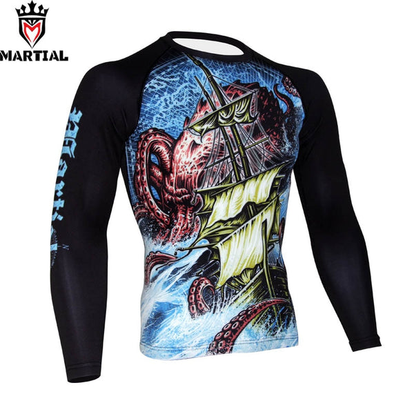 Martial EXPLORATION Rash Guard