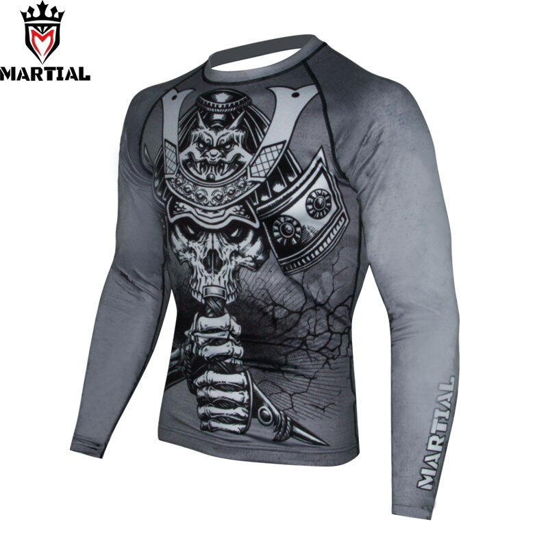 Martial Warrior Design Rash Guard