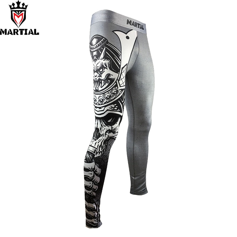 Martial GREY WARRIOR Pants