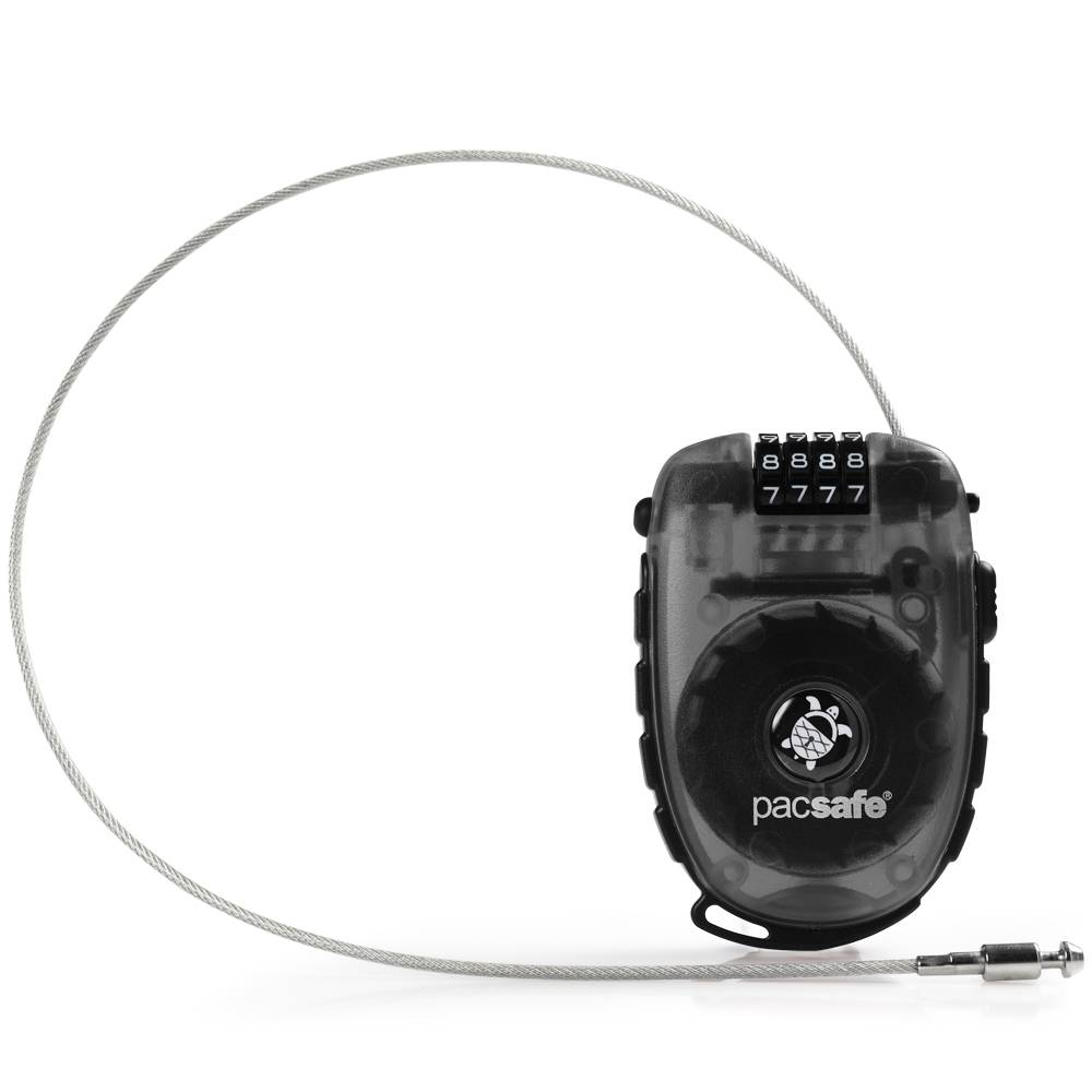 Pacsafe RetractaSafe 250 kabellås smoke