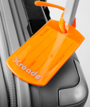 Indlæs billede til gallerivisning X-roads Luggage ID-tags orange navnetag  (2 stk)