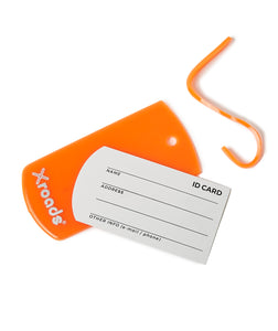 X-roads Luggage ID-tags orange navnetag  (2 stk)