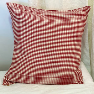 Coussin Vichy Rouge