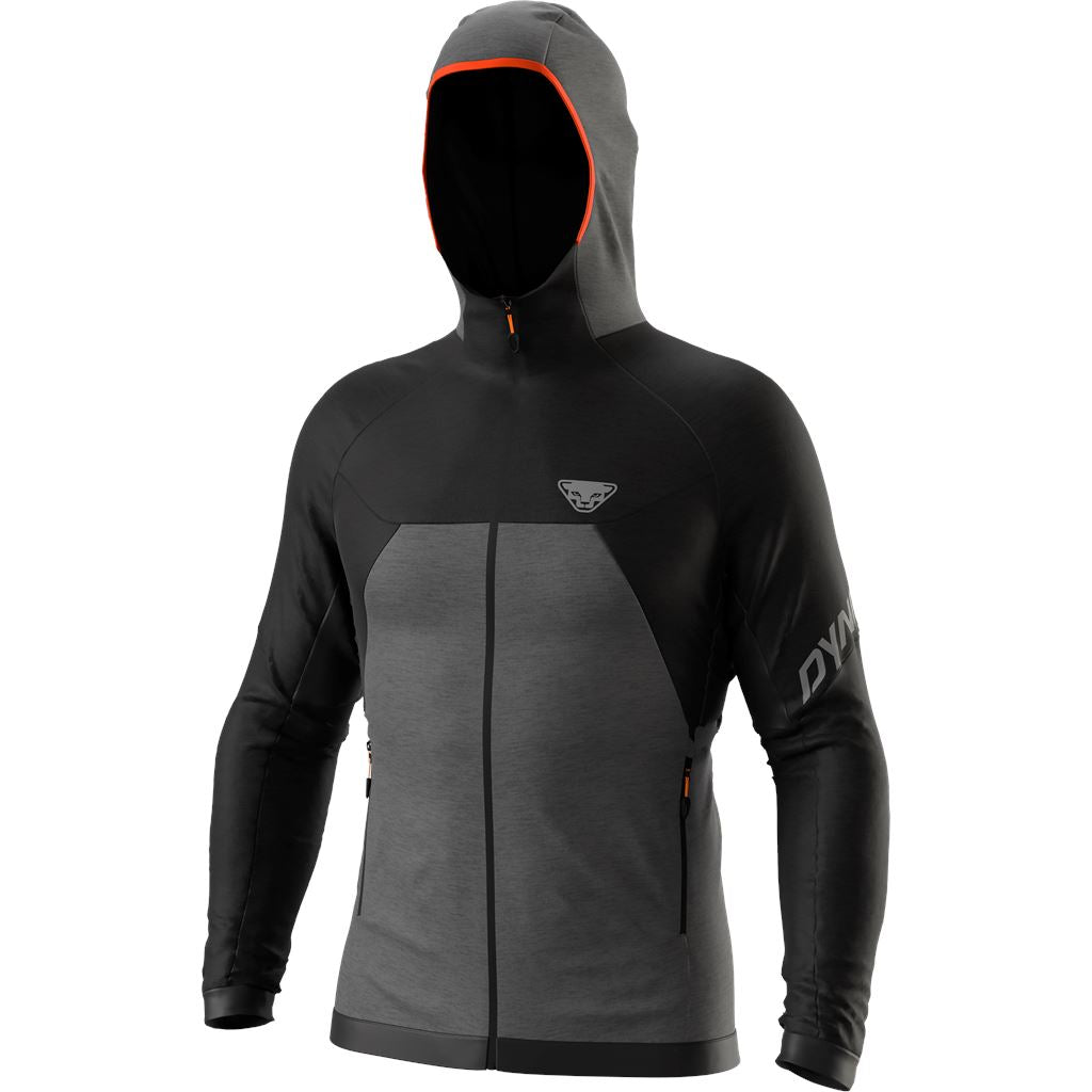 Dynafit Tour Wolle Thermal Kapuzenjacke Herren Midlayer Dynafit S black out