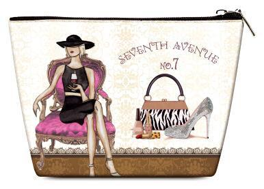 OH Fashion Cosmetic Bag Parisian Belle