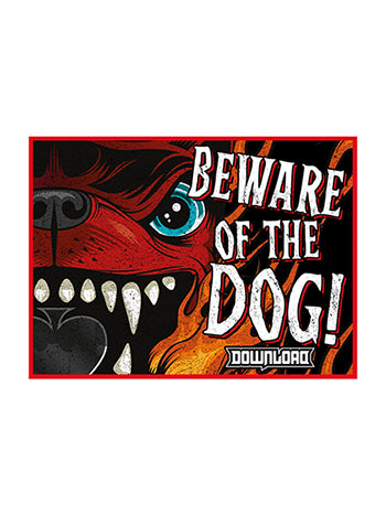 Beware Car Sticker