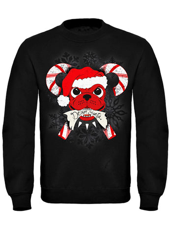 Candy Cane Dog Sweatshirt