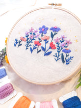 Load image into Gallery viewer, DIY Wildflower Embroidery Kit