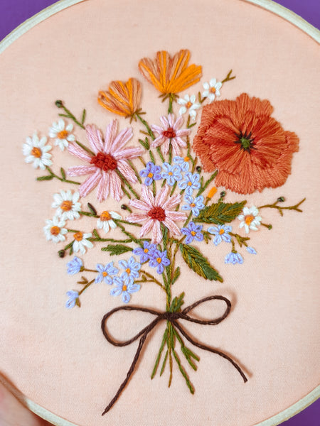 Custom Bouquet Embroidery