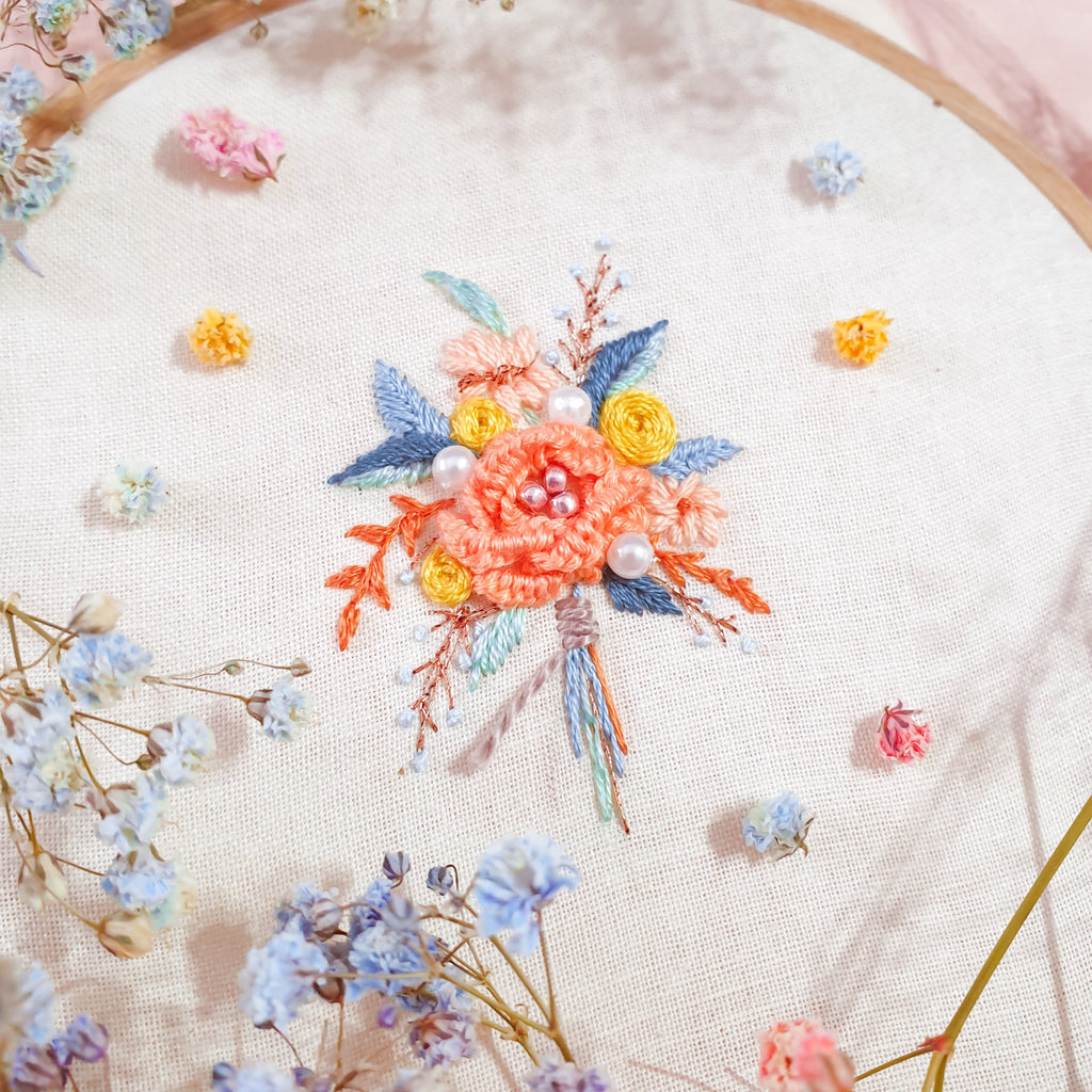 Bouquet Embroidery Workshop (Upon Request)