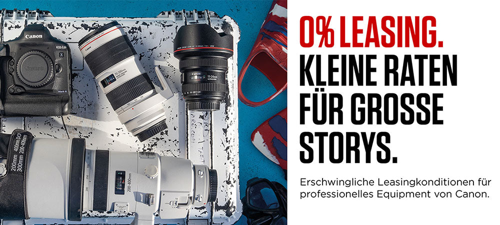 Canon 0% Leasing Aktion
