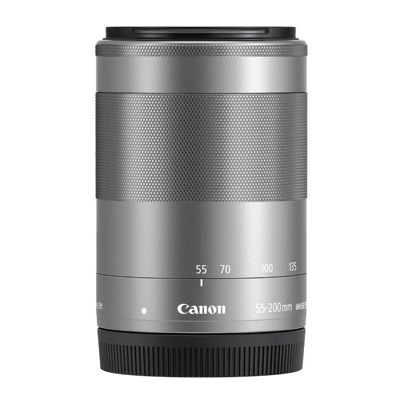 CANON EF-M 55-200mm / 4,5-6,3 IS STM silber
