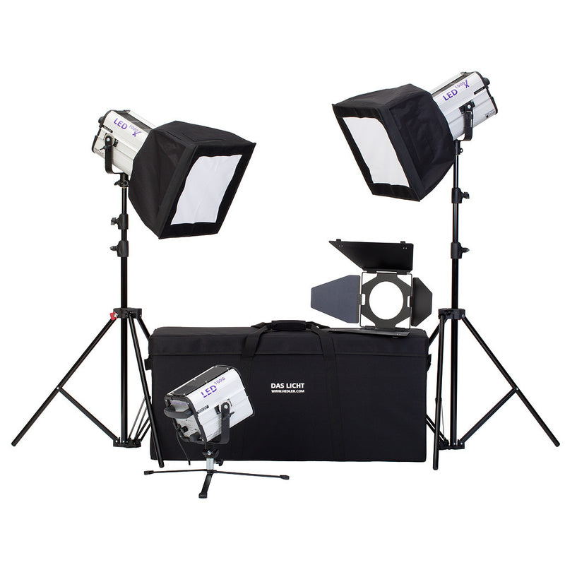HEDLER 5604 LED Portrait Kit