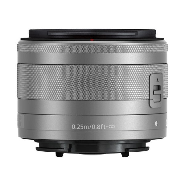 CANON EF-M 15-45mm / 1:3,5-6,3 IS STM silber