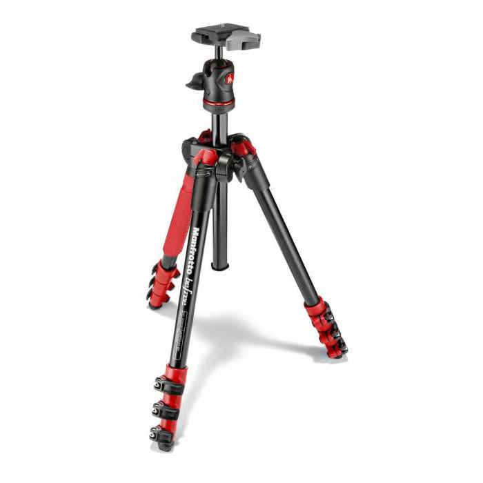 MANFROTTO MKBFRA4RD-BH - BEFREE Aluminium rot