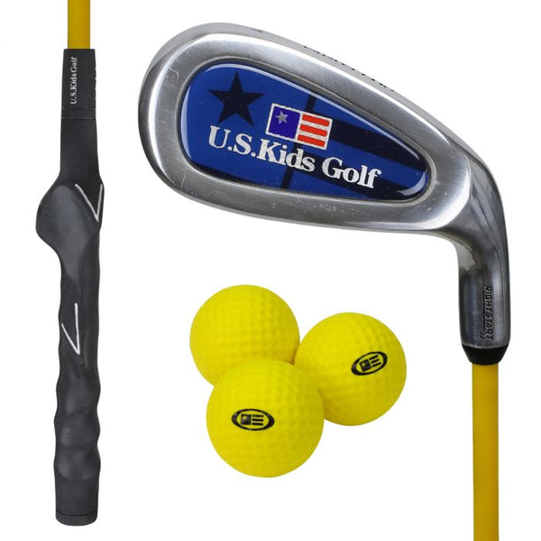 US Kids Golf Yard Club & Balls
