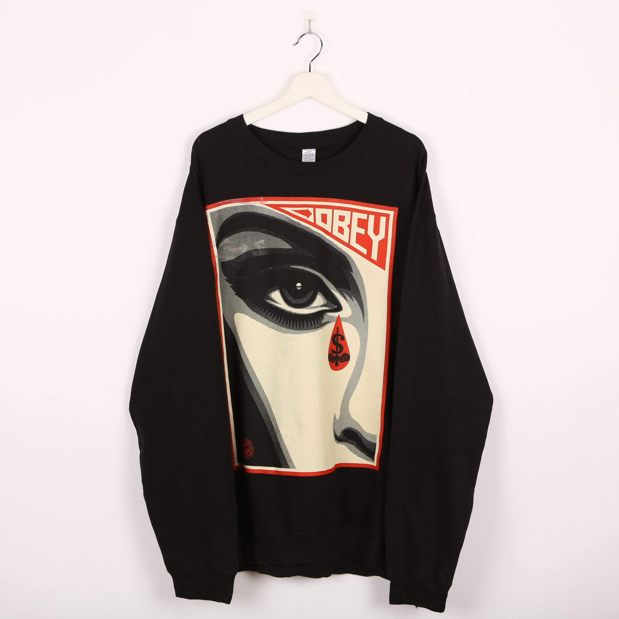 Obey Sweatshirt Black XLarge