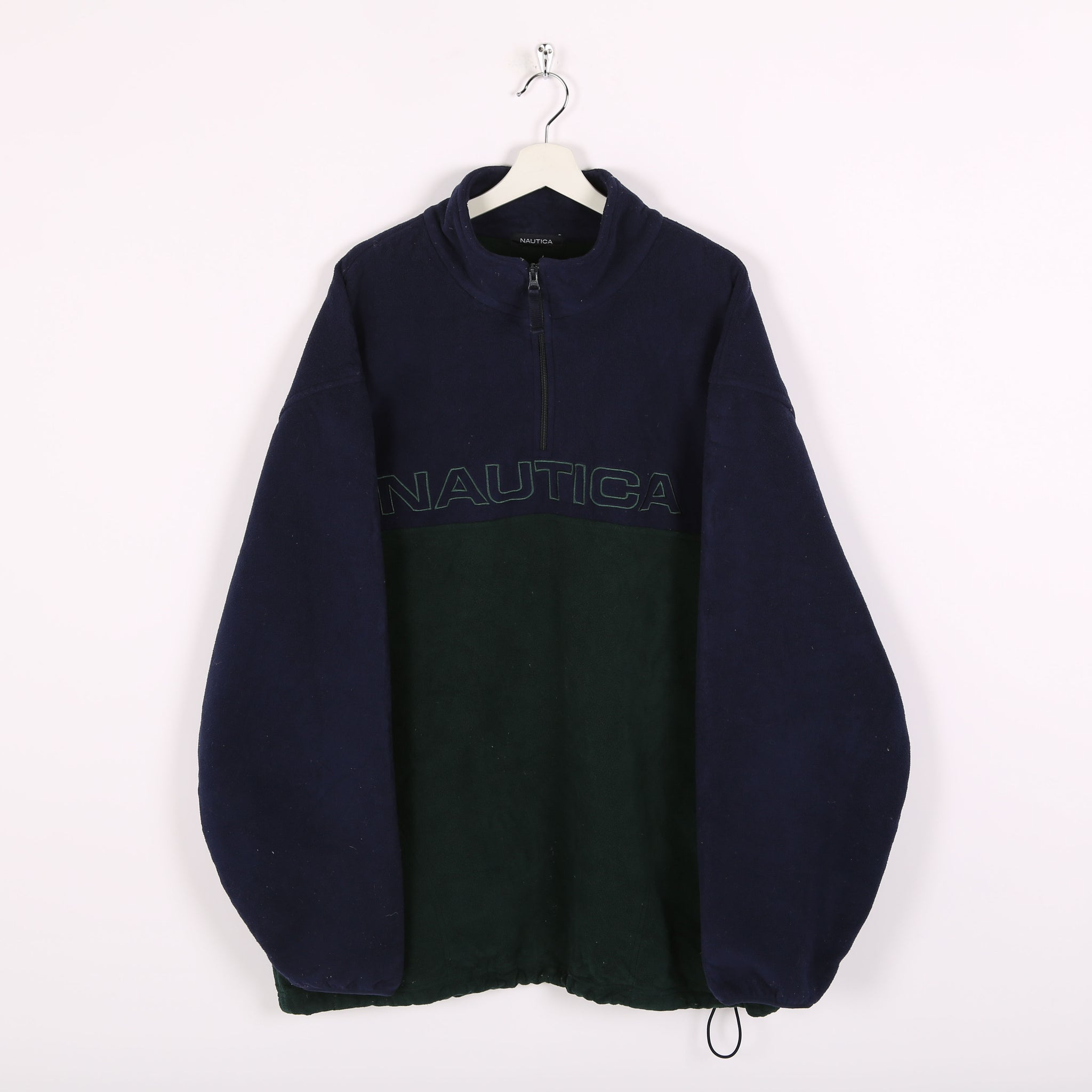 Nautica 1/4 Zip Fleece Blue XXLarge