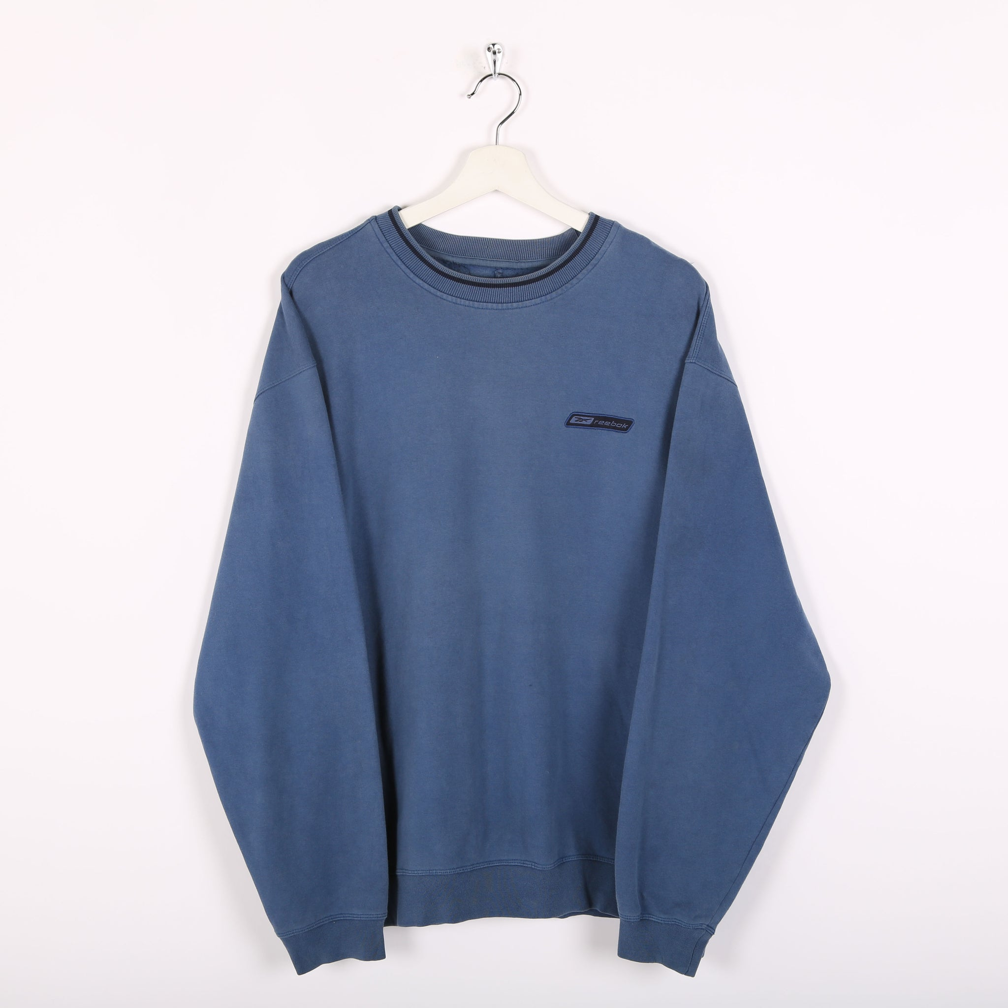 Reebok Sweatshirt Blue Medium