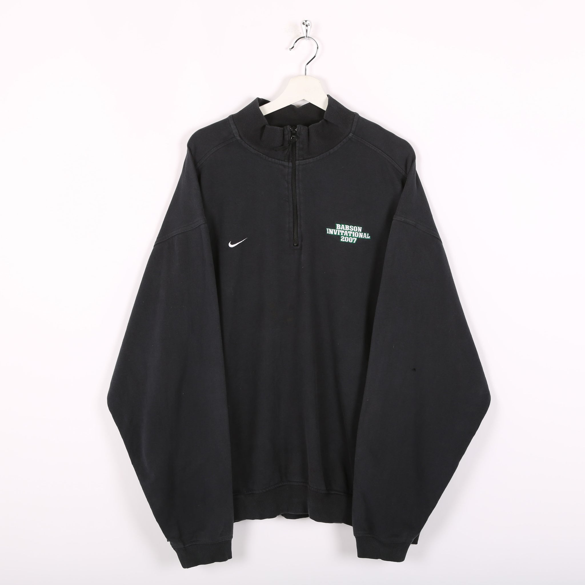 Nike 1/4 Zip Sweatshirt Black XXLarge