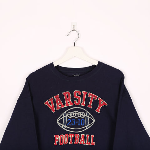 Unbranded USA Team Sweatshirt Blue Small
