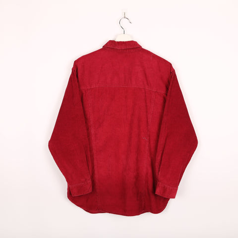 Unbranded Corduroy Shacket Red Small