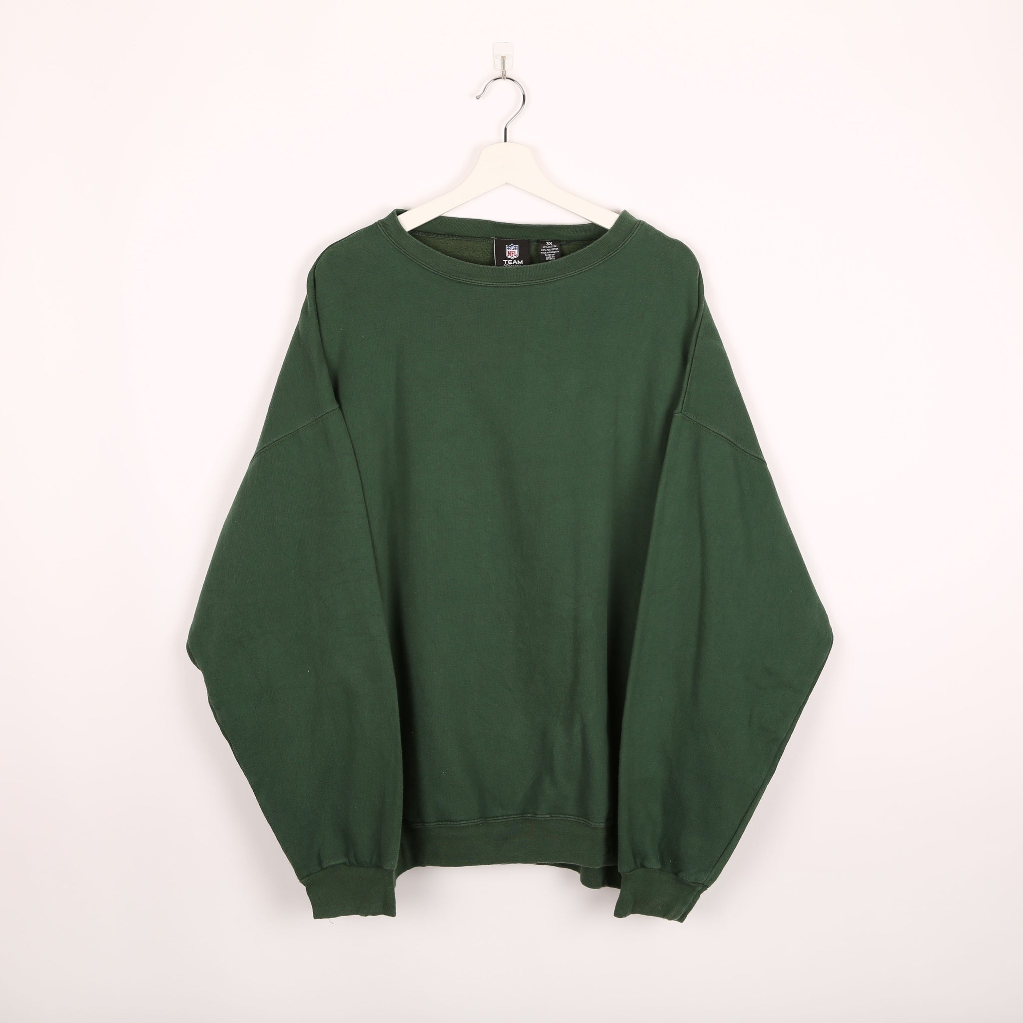 NFL Merch Sweatshirt Green XXXLarge