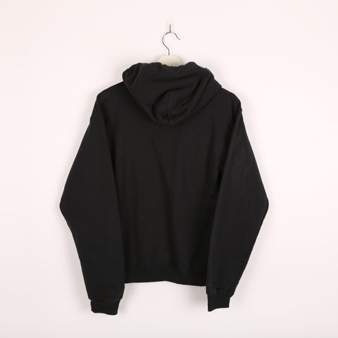 Champion USA College Hoodie Black Small