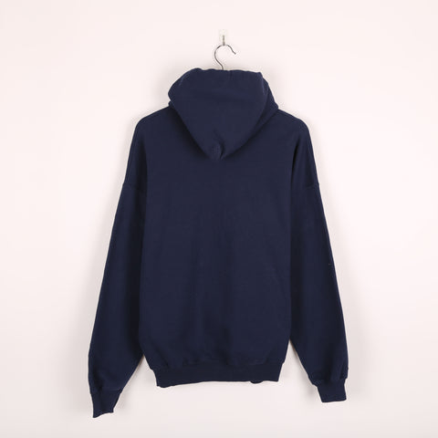 Champion USA College Hoodie Blue Large
