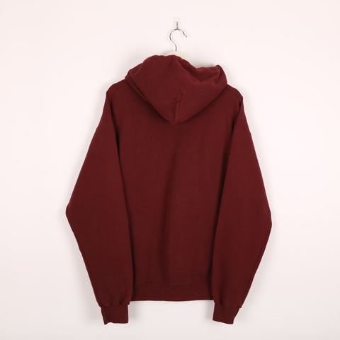 Champion USA College Hoodie Red Large