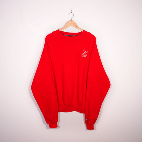 Champion Sweatshirt Red XLarge