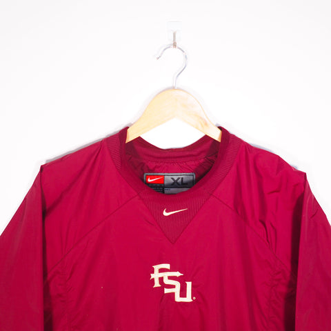 Nike FSU Light Jacket Red XLarge