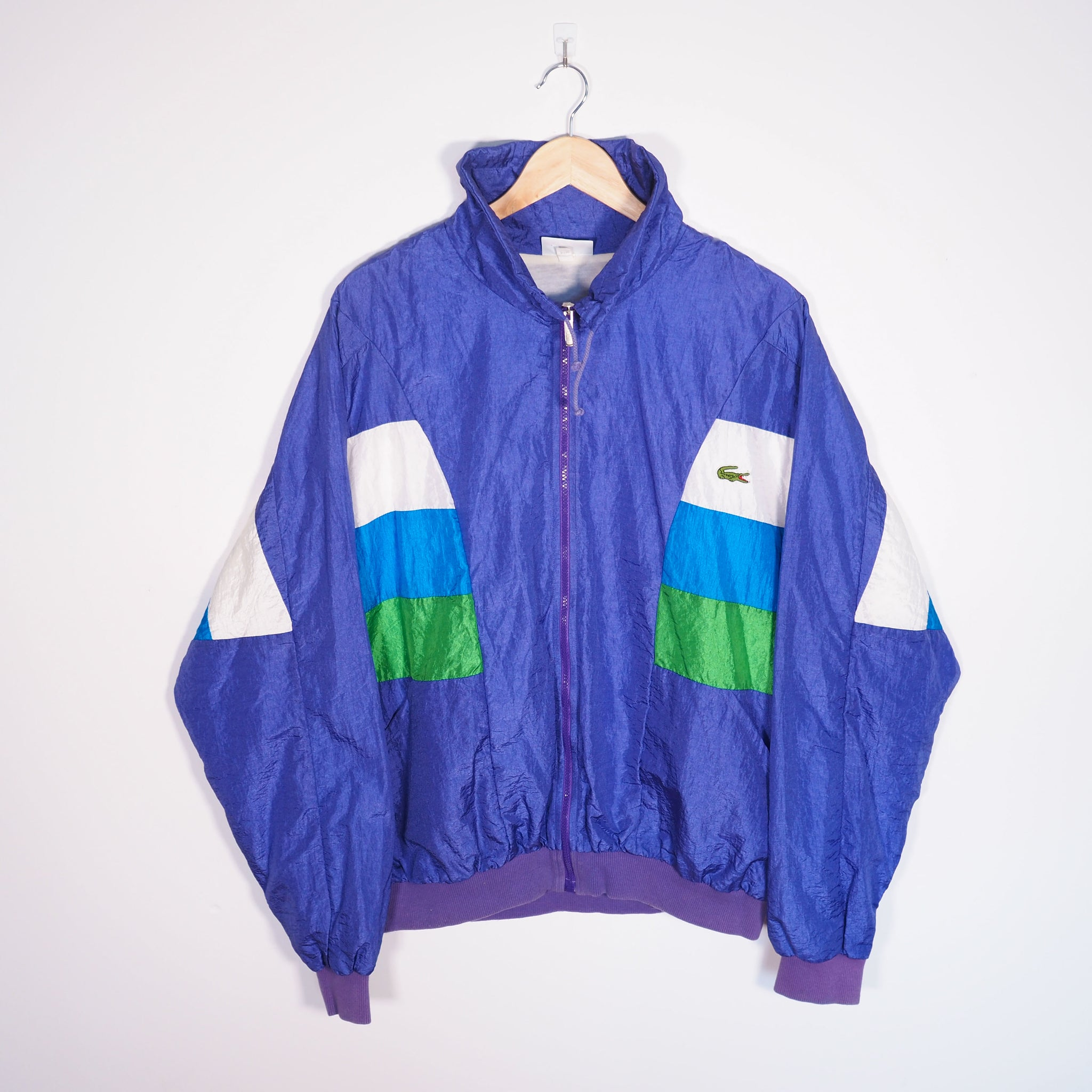 Lacoste Track Jacket Purple XLarge