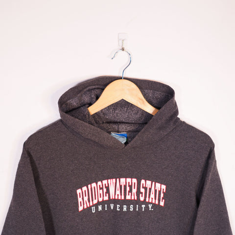 Champion USA College Hoodie Grey Small