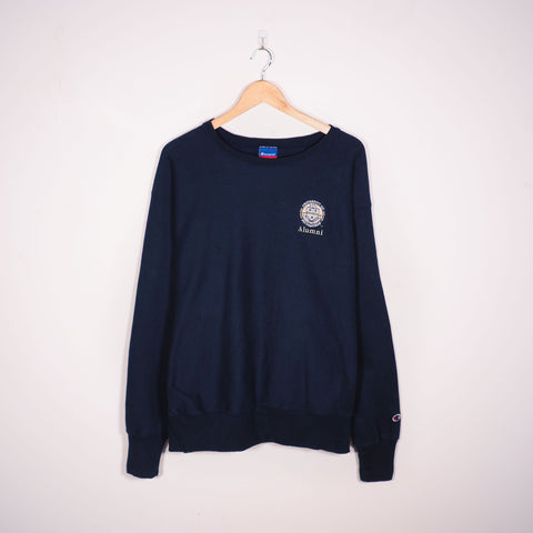 Champion USA College Sweatshirt Blue XLarge